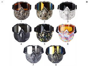 Paintball full protection  face