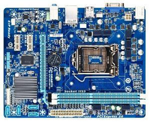 Matična GIGABYTE GA-H61M-S1sa i3 procesorom