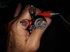 kablo 5 pin -- 4 činč