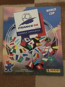 Panini album FRANCE 98