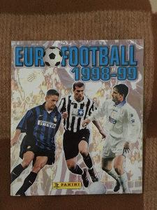 Panini album EUROFOOTBALL 1998-99