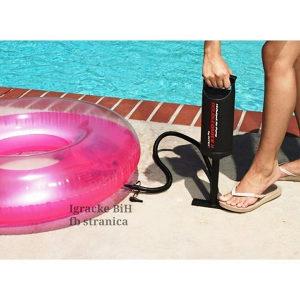 Ručna pumpa za duvanje bazena INTEX 36cm NOVO!