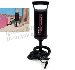 Ručna pumpa za duvanje bazena 30 cm INTEX NOVO!