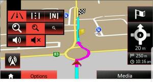 Mape karte navigacija renault media nav