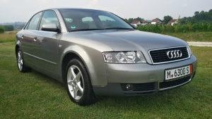 Audi A4...2.4 BENZIN....125 KW...AUTOMATIK...MODEL 2003