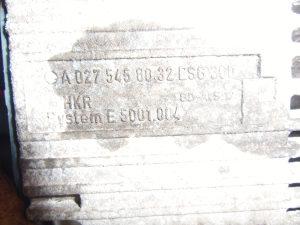 relej ventilatora mercedes A E klasa 027 545 80 32