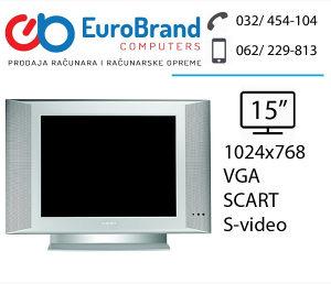 """LCD TV 15"""" Philips"""