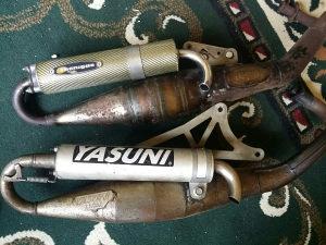 Auspuh Yasuni Tecnigas Aprilia sr50 gillera runner