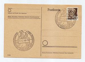 Njemacka dopisna karta