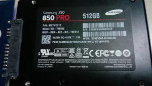 Samsung EVO 850 PRO 512 GB