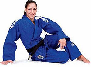 Green Hill judo kimono APPROVED crvena markica