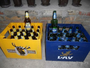 Ambalaza za pivo (lav,jelen,nektar)