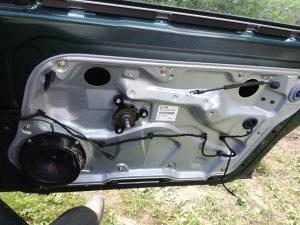 Golf 4-mehanični podizač stakala za cetvora vrata