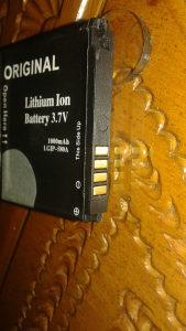 lithium baterija 3,7v-ORIGINAL