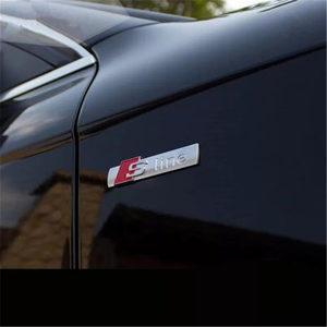 S line znak /sticker AUDI // Dost.besplatna