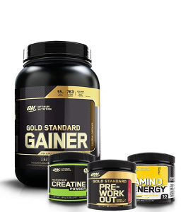 GOLD STANDARD GAINER 1,6KG   GRATIS PAC