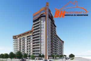 Novogradnja: Dvosoban stan 63,30 m2,  Sjenjak  Tuzla