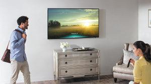 """Samsung 4K 55"""" LED HDR UltraHD 55MU6122 WiFi UHD TV"""