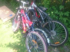 Prodaja 4 Bicikla za djelove