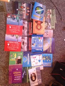 Knjige za 8 razred odnovne skole