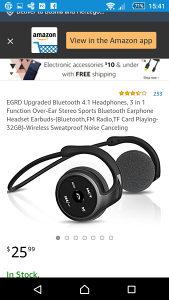 Bluetooth slusalice sx-998