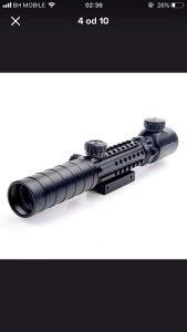 Optika Bushnell 3-9x32