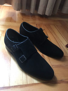 Muske cipele od velura