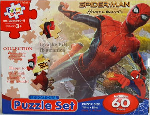 Slagalica puzle puzzle Spajdermen  Spiderman NOVO!