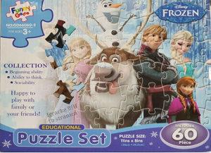 Slagalica puzle puzzle FROZEN ELZA I ANA NOVO!