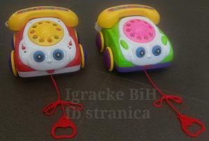 Telefon sa špagom za bebe NOVO