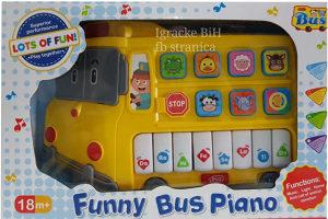 Klavir autobus za djecu klavijatura NOVO!