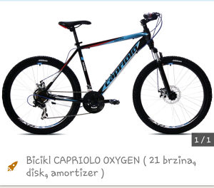 Bicikl Capriolo Oxygen