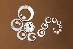 Zidni sat 3D dekorativni