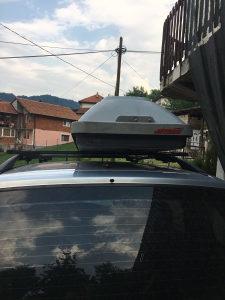 Krovni nosaci za auto bez kofera