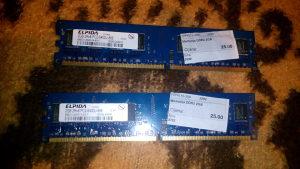 RAM memorija 4GB DDR2 DDR 2 Elpida (2+2 moduli)