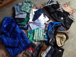 Paket odjece za djecaka 110-116