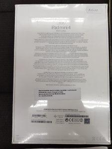 iPad mini 4 Wi-Fi + Cellular 32gb