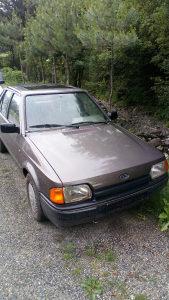 Ford escort 1,4 benzin
