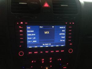 VW Navigacija MFD2
