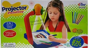 Projektor za crtanje dječiji na baterije 3 u 1 NOVO