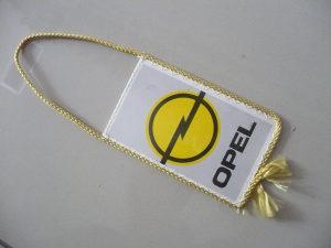 Zastavica opel / flag of opel auto