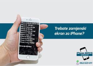 LCD/Display Apple iPhone 5 /Sa ugradnjom/