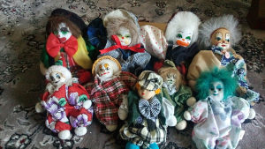Lutka klovn kolekcionarstvo lutke klaun kolekcija