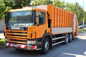 Scania P124 Damper