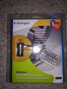 Laptop lock Kensignton
