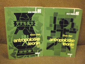 Antropološke teorije 1. i 2. dio - Elvin Hač