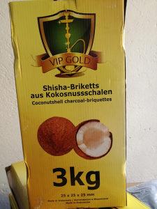 Žar za nargile kocka kokos ViP Gold