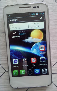 "Mobitel Alcatel  onetouchM"" POP"
