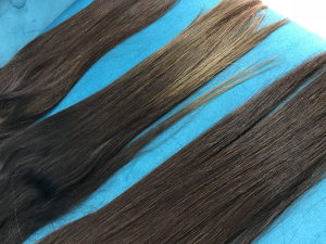 Ekstenzije, ljudska kosa