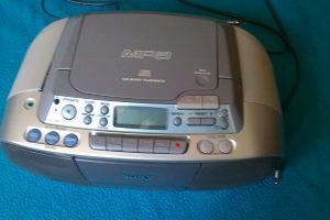 Sony CD radio cassete rekorder Mp-3